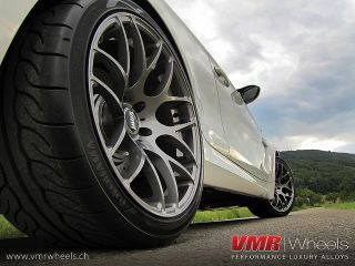 19 VMR V710 Gun Metal Wheels Rims Fit BMW M3 E46 E85 E90 E92 E93