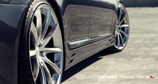 22 Ace Convex Wheels Silver BMW 6 Series 645 650 M6 E63 E64 Staggered