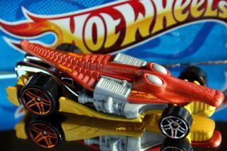 Hot Wheels Creature Cars Croc Rod