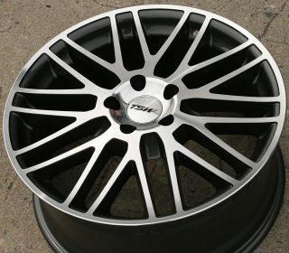 18 GUNMETAL RIMS WHEELS SAAB 9 3   SPORT&AERO 98 up / 18 X 8.0 5H +35