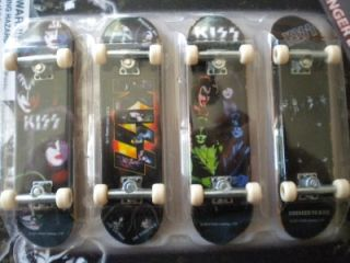 FINGER BOARDS      KISS       MINI SKATEBOARDS