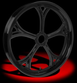 Colorado Custom Black 23 x 4.0 Aria Wheels & Tires Harley Flh Fltr