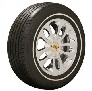 New 235 60 16 Vogue Tires White Wall Stripe Cadillac