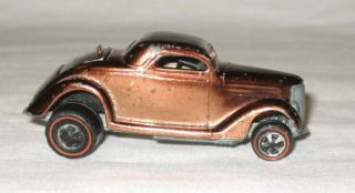 Hot Wheels Redline Brown 1969 Classic 36 Ford Coupe Hotwheels Red Line