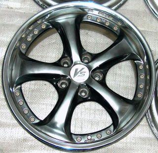 Work vs KF Alloy Rims Wheels 17 7J 5x114 Supra RX7 RX8 240sx s14 s13