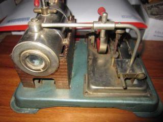 Vintage Jensen Style 65 Heated Steam Engine w Whistle