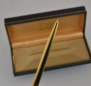 Authentic Vintage Dunhill Gold Ballpoint Ball Point Pen