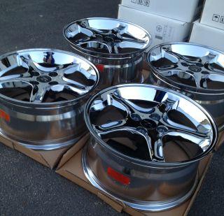 Mustang Cobra R Style Wheels 17x8 17x9 17 inch 17 4 Lug Rims