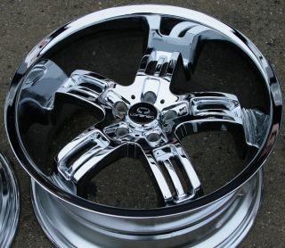Lorenzo WL026 20 Chrome Rims Wheels Mercedes SL550 SL55