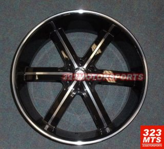 28 inch U2 55A Rims Wheels Ford Expedition F150 Chevy