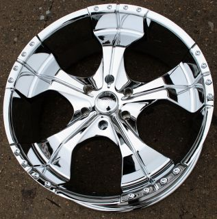 Panther Realm 280 22 Chrome Rims Wheels Tahoe Avalanche Escalade