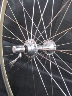 WHEEL SET Campagnolo C RECORD hubs, Mavic CXP30 GOLD rims 32H, VGC