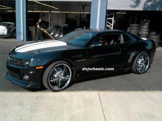 22 Diablo Dodge Charger Challenger Magnum Chrysler 200 300 300C Wheels