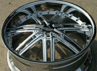Lupus 981 20 Chrome Rims Wheels Acura TL 09 Up 20 x 8 5 5H 38
