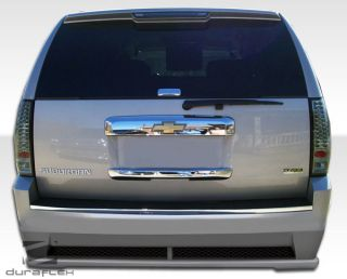 2007 2012 Chevy Suburban Duraflex Hot Wheels Rear Bumper Body Kit