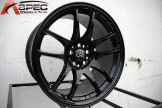 Rota Torque 18x9 5 5x114 3 ET28 Yamaha Black Wheels