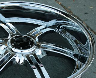 Gianelle Mallorca 24 Chrome Rims Wheels GMC Acadia Traverse