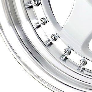 New 15x7 4x100 Drag Dr 46 White Wheels Rims