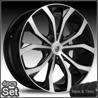 30 Lexani Johnson Wheels and Tires Escalade Chevy Ford QX56 RAM Rims