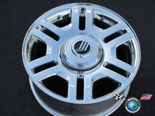 02 05 Mountaineer Factory 17 Chrome Wheels 3525
