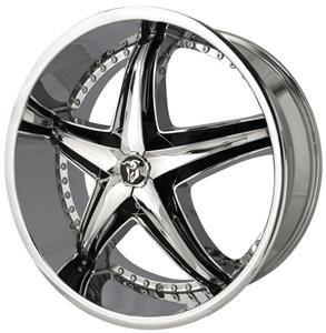 Reflection Chrome Wheel Rim 5x115 300C Charger Magnum AWD