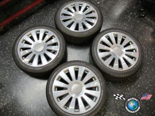 10 Audi A8 Factory 19 Wheels Tires Rims Pirelli 255 40 19 58776