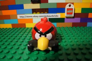 Hot Wheels Rovio Angry Birds Red Bird Diecast Vehicle 2012 New Models