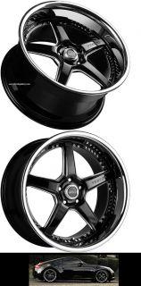 Drift Wheels For Nissan 370Z 350Z G35 CP Full Set of 4 Rims & Caps