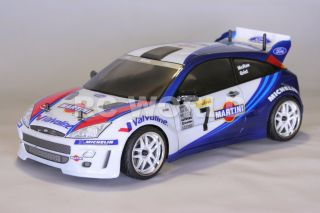 10 RC Ford Focus Rally WRC Race Car Brushless RTR Brand New 40 MPH