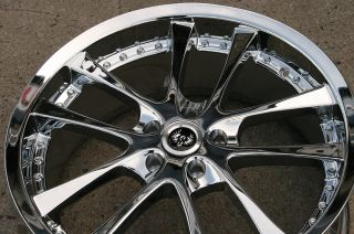 Grans 19 Chrome Rims Wheels Infiniti M35 06 Up 19 x 8 5 5H 38