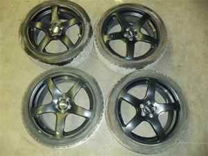 Scion XD TC Corolla 18 TRD Wheels Rims w Tires Set 4