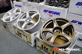 Advan JDM Wheels Rcii RC2 18x7 5 35mm 5x100 2000 2005 Toyota Celica