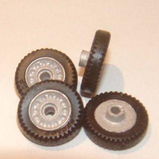 Custom 1 43 Scale Dunlop Alloy Racing Wheels Tires