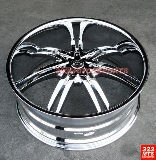 26 Bentchi B14 Rims Tires Chevy Yukon Escalade Tahoe
