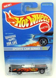 1995 Hot Wheels Sports Car Series 59 Caddy Cadillac #3/4 #407 MOC