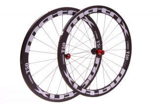 Matrix Road Bike 700c Carbon Wheels Tubular 50 mm Campy