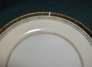 Vintage 53 PC Set Kingsley China of Japan Gold Bands Cream Rim White