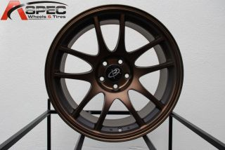 17X9 ROTA TORQUE 5X100 +30 FULL ROYAL SPORT BRONZE WHEEL FITS STI TC