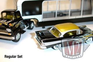 Machines Auto Haulers 1958 Chevrolet Truck 1957 57 Chevy Flames Chase