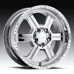 17 inch V Tec 326 Chrome Wheels Rims 6x135 Ford F150
