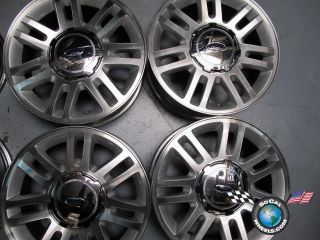04 11 Ford F150 Factory 18 Wheels OEM Rims Expedition 3784 AL34 1007