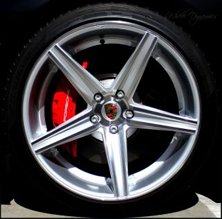 Porsche CAYENNE 22 Wheels Genuine 323 Series OEM bolts Panamera Turbo