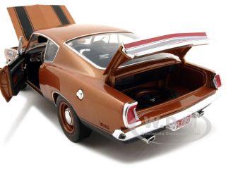 model of 1969 Plymouth Barracuda 440 die cast model car by Highway 61