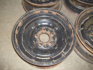 68 69 70 Buick Riviera LeSabre Electra Original 15x6 Steel Wheels Rims