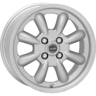 17x7 Silver American Racing Vintage Silverstone Wheels 4x110 42
