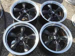 Aftermarket 17 Black Alloy Wheel Rims for Mustang LKQ