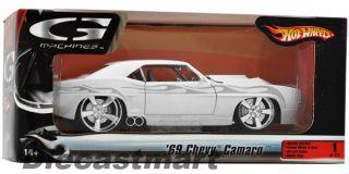 Hotwheels G Machines 1 24 1969 Chevy Camaro New Diecast Model Car