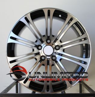 19 BMW M3 Staggered Wheels Rims Fit E46 E90 E92 E93