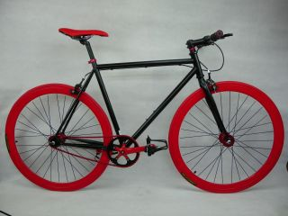Teman Single Speed Fixed Gear Road Bike Ultra Light