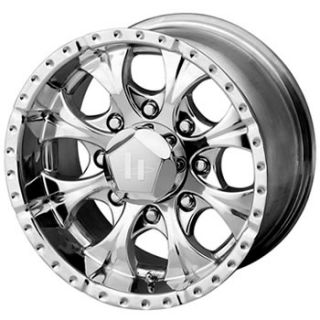 18x9 Chrome Wheels Rims Helo HE791 8x170
